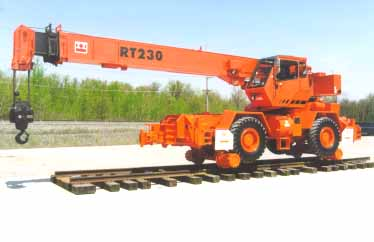 15 -30 Ton RT Crane Friction Drive Rail Gear Systems