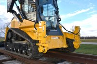 Track Skid Steer Rail Gear