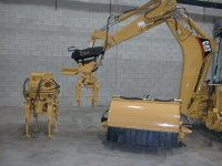Backhoe Tie Gang Attachments